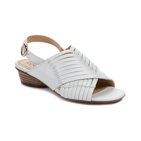Lucca Lane Tempest Women's Sandals White