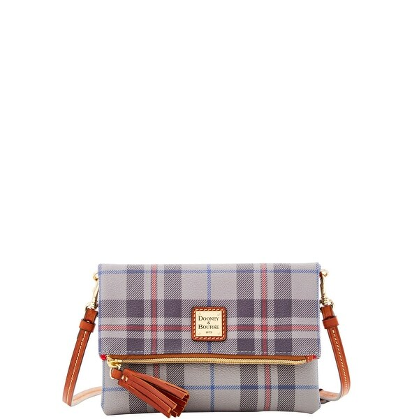 Dooney  amp  Bourke Tiverton Foldover Zip Crossbody Shoulder Bag  (Introduced by Dooney  amp  e1d7ae0458