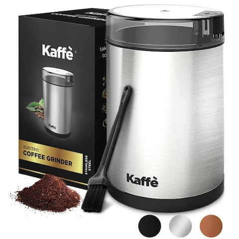 KF2020 Electric Coffee Grinder by Kaffe - Stainless Steel