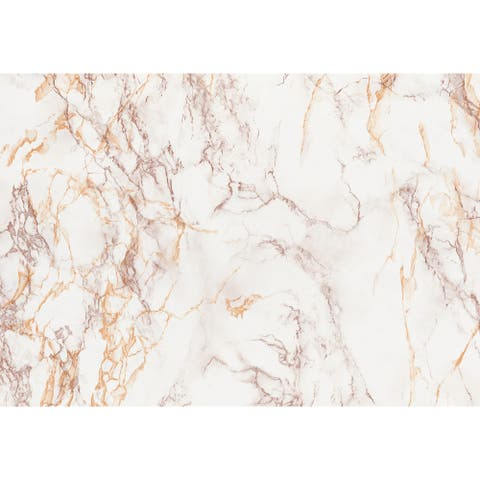 """Brewster T346 Faux Marble 78-3/4"""" Long Vinyl Adhesive Film - Set of"""