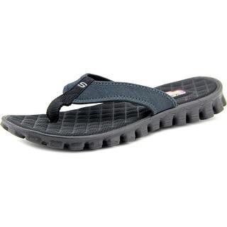 Skechers EZ Flex Golden Coast Open Toe Synthetic Flip Flop Sandal