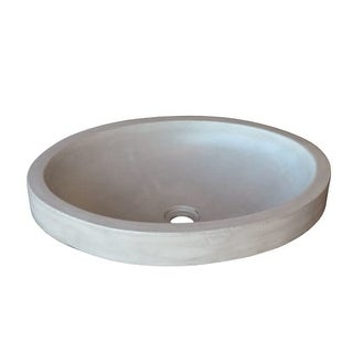 "Native Trails NSL1916 Tolosa 19"" Single Basin NativeStone Bathroom Sink for Drop In or Undermount Installations"
