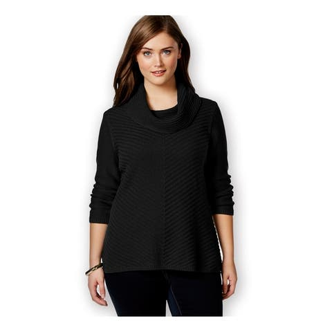 Style&Co. Womens Ls Cowl-Neck Pullover Sweater