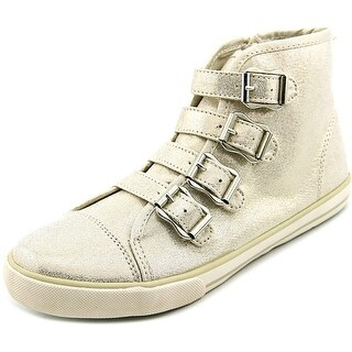 Nina Kids Danitra Youth Round Toe Synthetic Gold Sneakers
