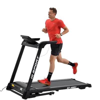 Moda 2.25hp Treadmill Home Gym Diamond Pattern Silent Belt