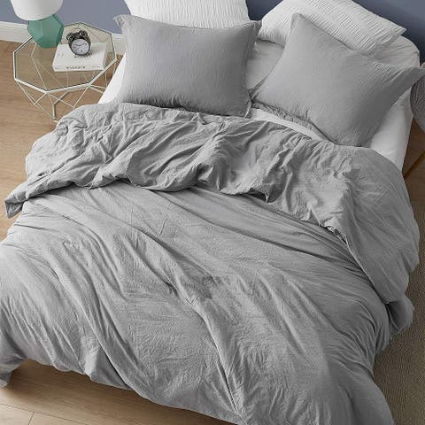 Chommie - Weighted Natural Loft Comforter - Alloy