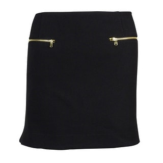 RACHEL Rachel Roy Women's Zipper-pocket Mini Skirt - 12