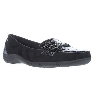 KS35 Jazmin Loafer Flats, Black