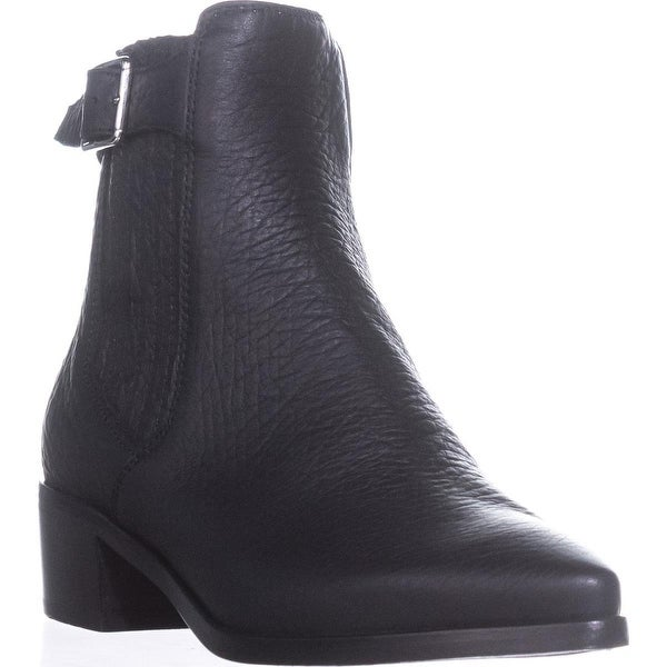 Belstaff Albaz Motorcycle Ankle Boots, Black