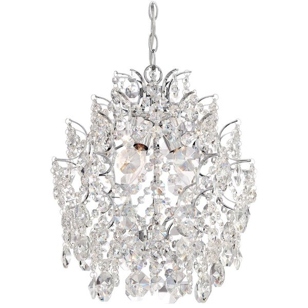Minka Lavery 3150-77 3 Light Single Tier Chandelier from the Mini Chandeliers Collection - Chrome