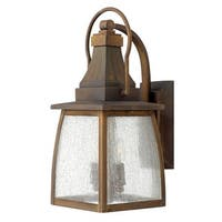 """Hinkley Lighting 1200-LED 17.3"""" Height LED Outdoor Lantern Wall Sconce from the Montauk Collection - Sienna - n/a"""