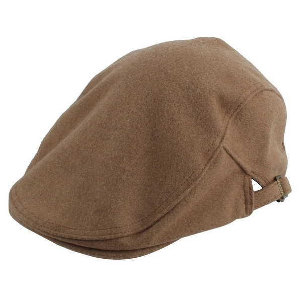 ce6a00874ad Winter Warm Newsboy Duckbill Ivy Cap Cabbie Driving Golf Flat Beret Hat  Khaki