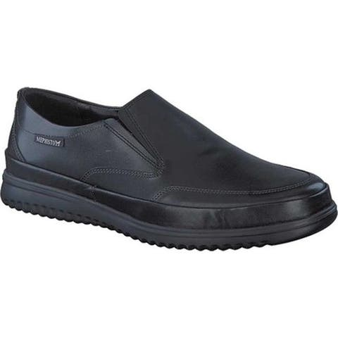 Mephisto Men's Twain Loafer Black Randy Smooth Leather