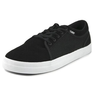 DVS Aversa Men Round Toe Suede Black Skate Shoe
