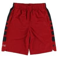 Nike Boys Elite Stripe Shorts Red - Red/black