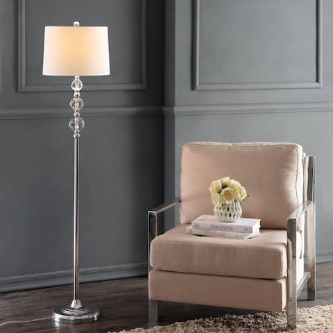 SAFAVIEH Lighting 61-inch Venezia Crystal Floor Lamp