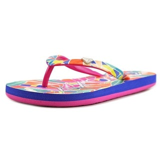Roxy RG Pebbles V Youth Open Toe Synthetic Flip Flop Sandal