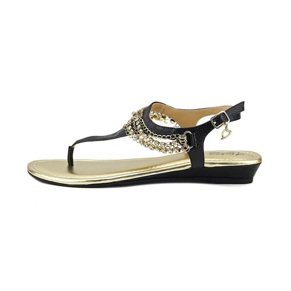 Thalia Sodi Womens Zella Split Toe Casual Slingback Sandals