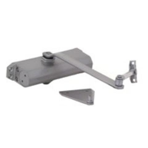 "Mintcraft C501-AB-SA-AS Door Closer, 1/4"", Silver Pewter"