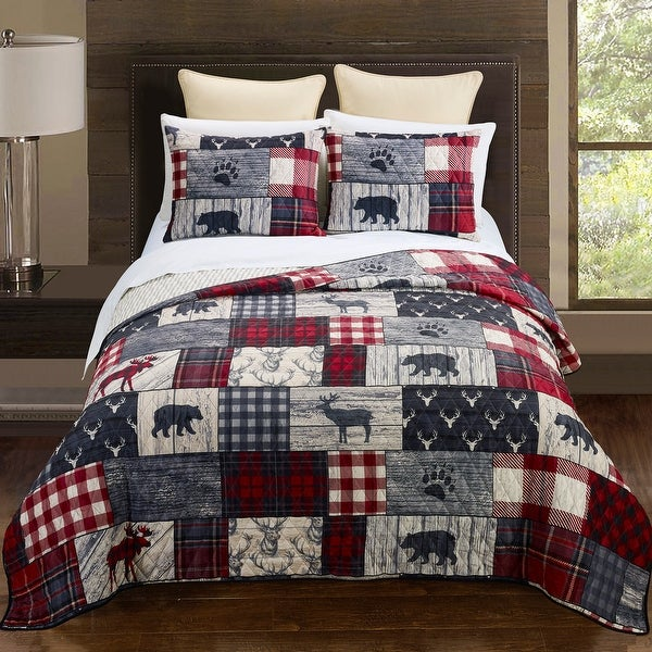 Your Lifestyle by Donna Sharp Timber Bedding Set. Opens flyout.