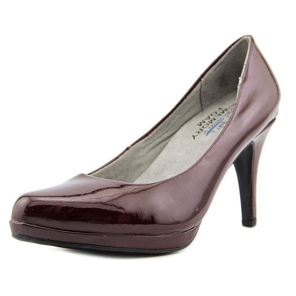 Life Stride X-Amber Women Pointed Toe Synthetic Burgundy Heels