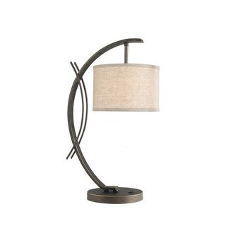 Woodbridge Lighting 13481MEB-S10801 1 Light Table Lamp from the Eclipse Collecti