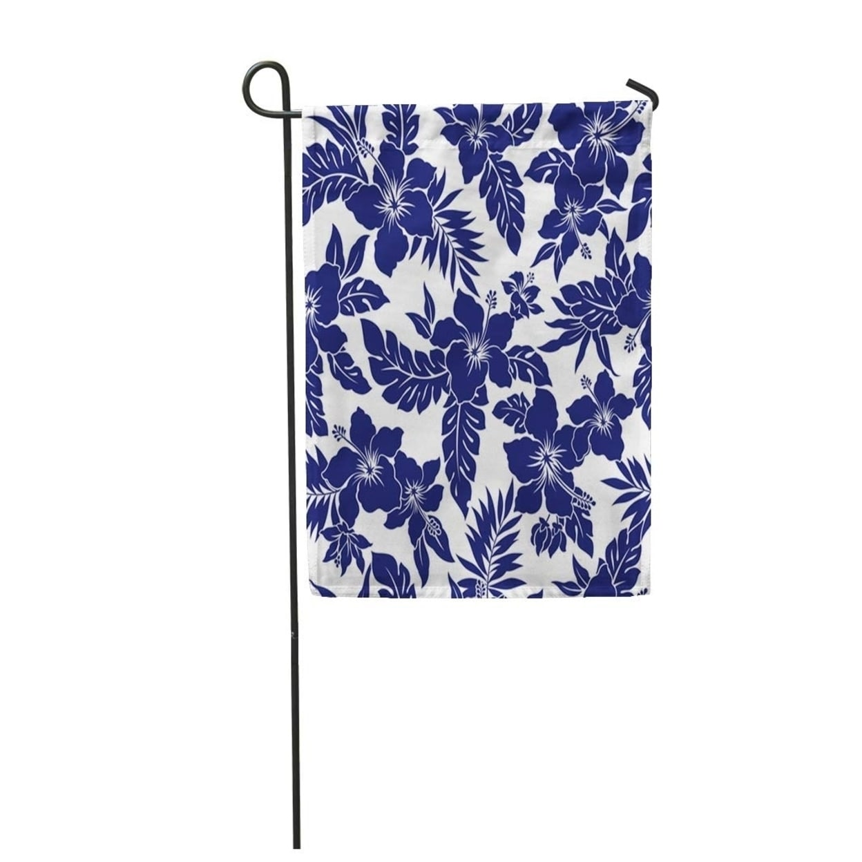 Simple Tropical Flower Pattern Drawing Hibiscus Leaf Floral Aloha Beautiful Garden Flag Decorative Flag House Banner Overstock 31393264
