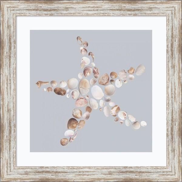Framed Art Print 'Starfish' by Justin Lloyd 18 x 18-inch. Opens flyout.