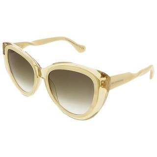 Balenciaga BA0026S 47P Honey/Cream Cat Eye sunglasses