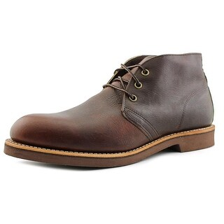 Red Wing Shoes Foreman Chukka Men  Round Toe Leather Brown Chukka Boot