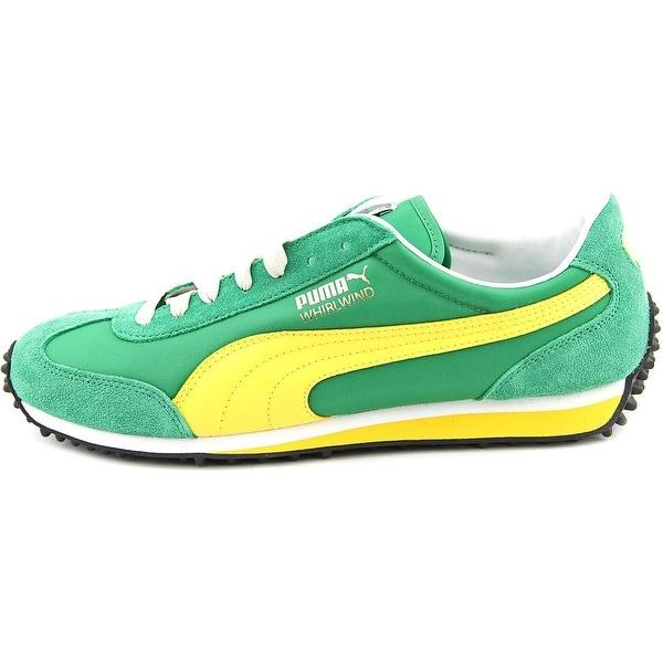 Shop Puma Whirlwind Classic Men Round Toe Suede Green