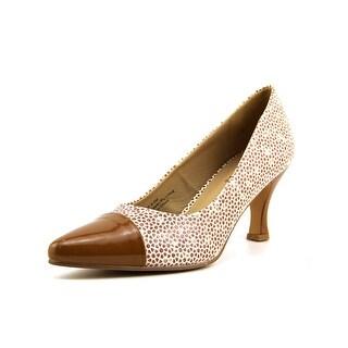 Bellini Zip Women Pointed Toe Synthetic Heels