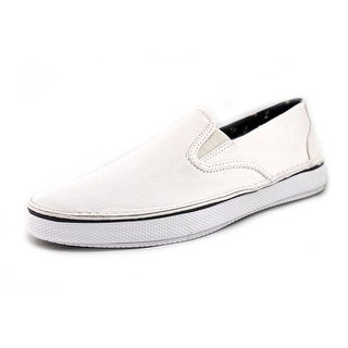 Sperry Top Sider Cruz S/O Men Round Toe Canvas White Loafer