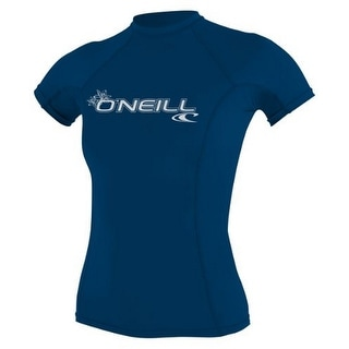 Oneill Womens Basic Short Sleeve Rashguard (Option: L)