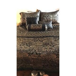 Everrouge Lyon Luxury Jacquard 7 Pcs Comforter set
