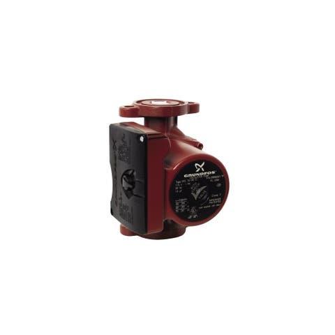 Grundfos UPS 15-58 FC Cast Iron Recirculation Pump with 35.6 Degree Low Temperature Max Maximum Power Input of 87W Oval Valve