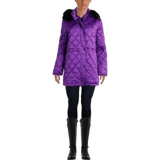 Lauren Ralph Lauren Womens Down Hooded Puffer Coat