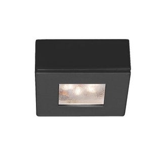 "WAC Lighting HR-LED87S 2.25"" Wide 3000K High Output LED Square Under Cabinet Puck Light"