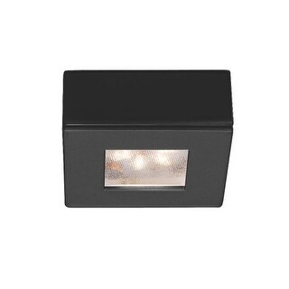 "WAC Lighting HR-LED87S-27 2.25"" Wide 2700K High Output LED Square Under Cabinet Puck Light"