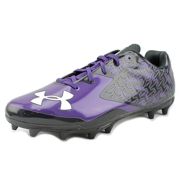 Under Armour Team Nitro Mid MC Men Blk/Pur/Wht Cleats
