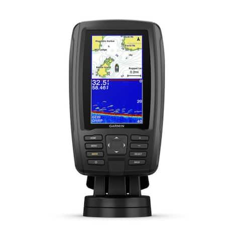 Garmin ECHOMAP Plus 44cv 4.3 Inch Fishfinder w/GT20-TM Transducer