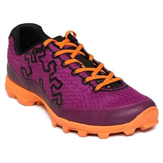 Icebug Women's Acceleritas5 RB9X Traction Running Shoe - magenta/neon orange