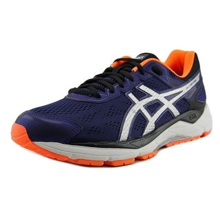 Asics GEL-Fortitude 7 Men  Round Toe Synthetic Blue Running Shoe