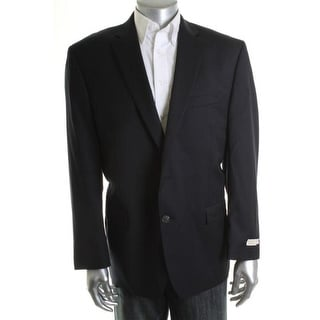 MICHAEL Michael Kors Mens Wool Notch Collar Sportcoat - 46R