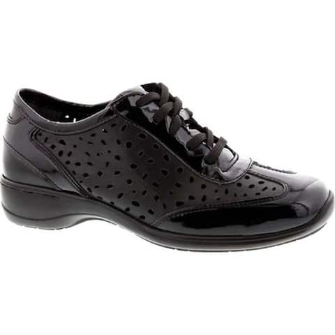 Ros Hommerson Women's Sealed Oxford Black Leather/Patent