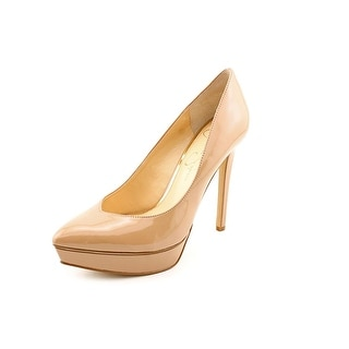 Jessica Simpson Venisse Women Pointed Toe Synthetic Nude Heels