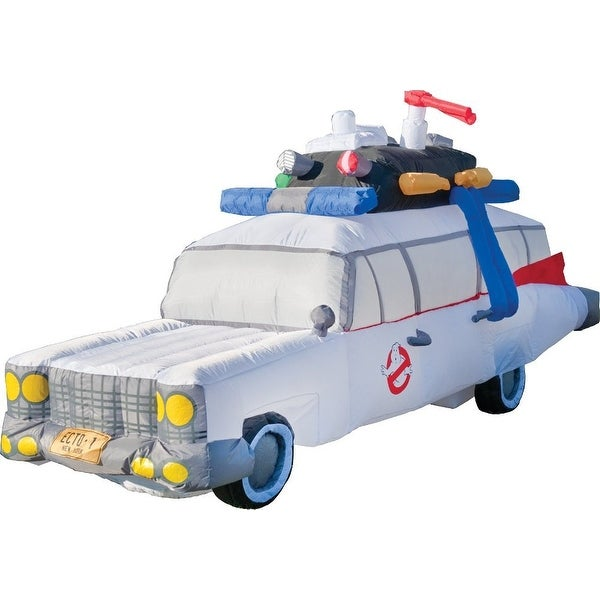 Ghostbusters Ecto-1 Inflatable Halloween Decoration