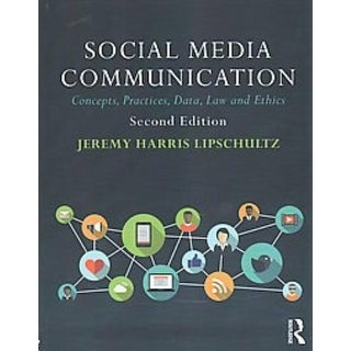 Social Media Communication - Jeremy Harris Lipschultz