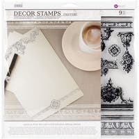 Iron Orchid Designs Decor Clear Stamps-Friffery
