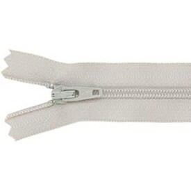 "Smoke Gray - Ziplon Coil Zipper 14"""